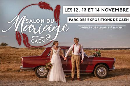Salon du Mariage de Caen 12, 13 et 14 Novembre 2021