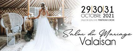 Salon du Mariage Valaisan à Martigny-Croix 29, 30 et 31 Octobre 2021