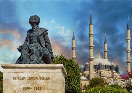 Architekt Sinan und die Selimiye Mosche in Edirne
