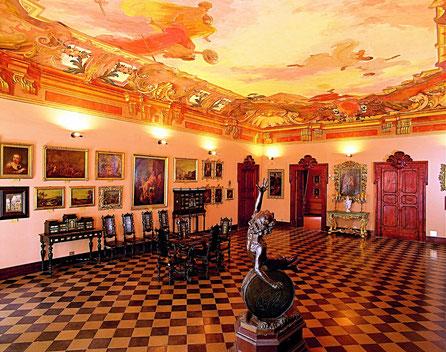 Una sala della Pinacoteca Civica di Ascoli Piceno