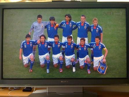 日本vsカメルーン