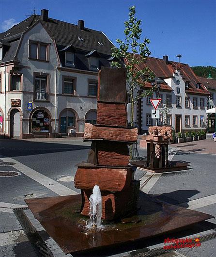 Dr. Johann Peter Frank Platz und Altes Rathaus