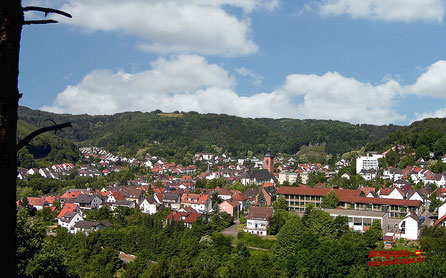 Blick vom Hilschberghaus