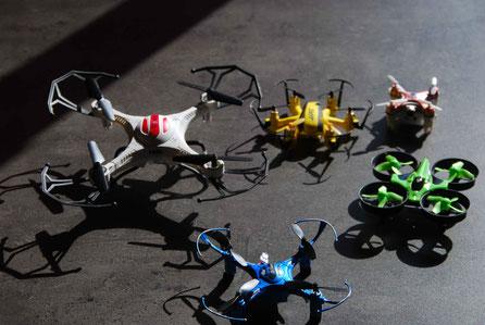 Drones inoffensive
