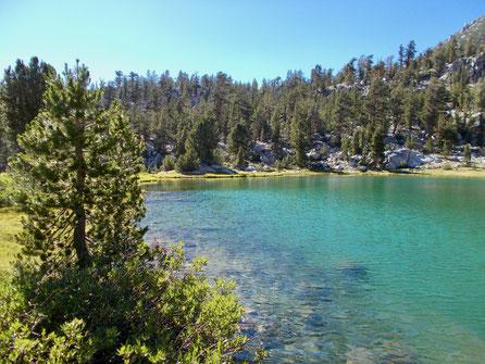 Small Lake vom südlichen Ufer aus