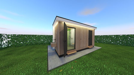 Privésanitair unit camping | Baarland, Zeeland