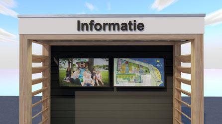 Informatiebord camping Scheldeoord | Baarland, Zeeland