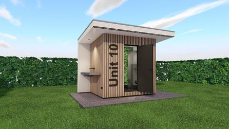 Luxe privesanitair unit enkel | Baarland, Zeeland
