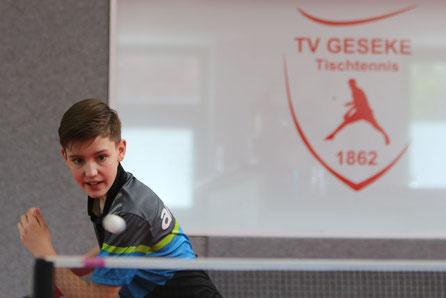 Nachwuchstalent Emilo Schulz wird am Samstag in Bühne alles geben, um die Punkte im Aufstiegskampf in Geseke zu behalten. Foto: Laame