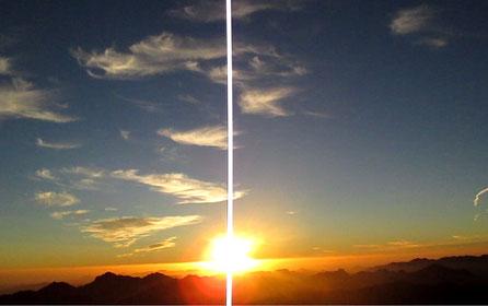 sunrise moses mountain sinai