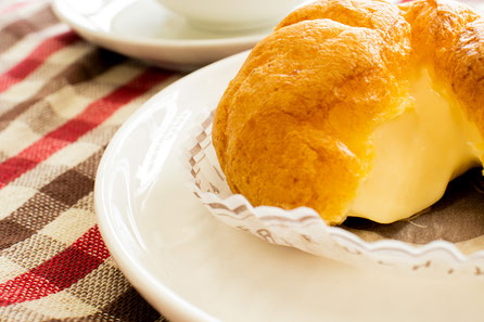 ウチヤマの絶品シュークリーム