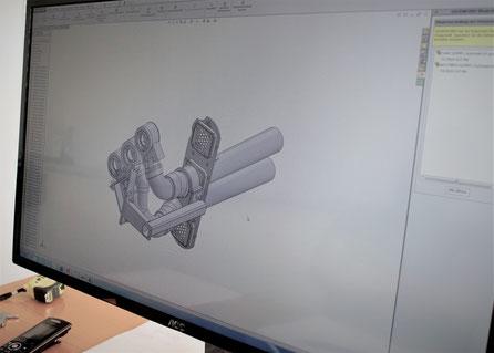 CAD Solid Works im Maschinenbauunternehmen. Laserschneiden, schweissen und Blechverarbeitung bis zum fertigen Produkt in der Ostschweiz.