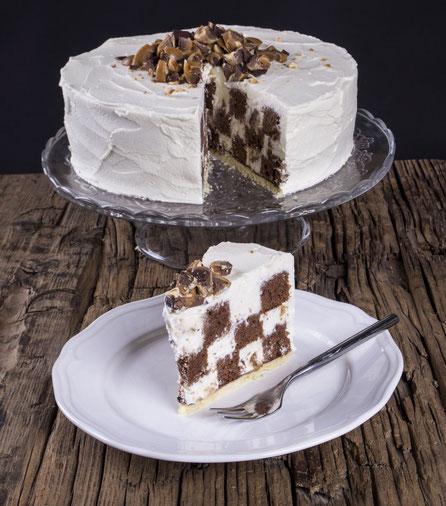 Die Toffifee-Schach-Torte