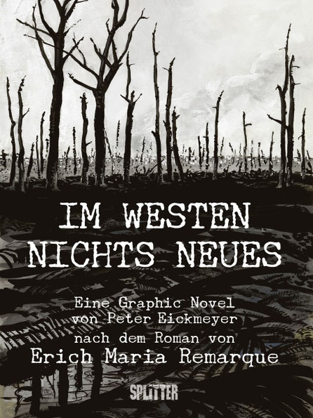 """Cover der Graphic Novel """"Im Westen nichts Neues"""""""