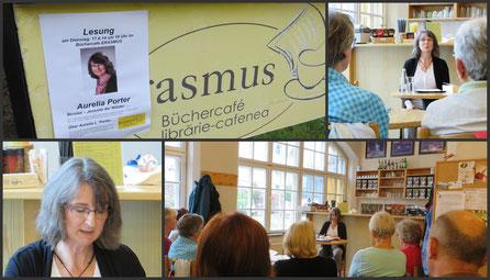 Lesung im Büchercafe Erasmus in Sibiu/Hermannstadt (Rumänien) am 17. Juni 2014