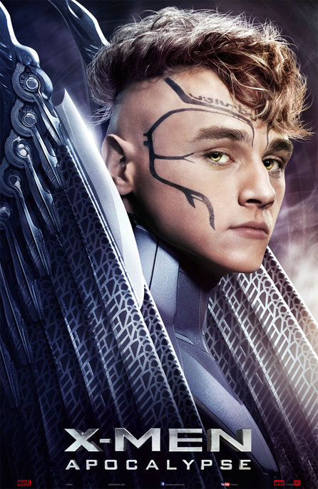 X-Men Apocalypse Charaktere - Angel - Archangel - 20th Century Fox - kulturmaterial