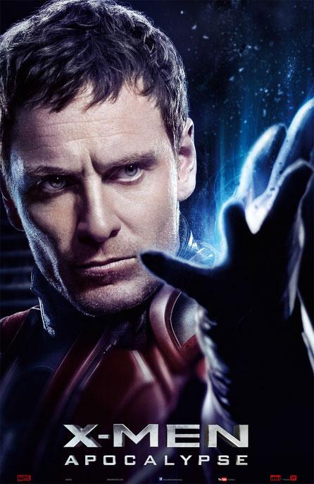 X-Men Apocalypse Charaktere - Erik Lehnsherr - Magneto - 20th Century Fox - kulturmaterial
