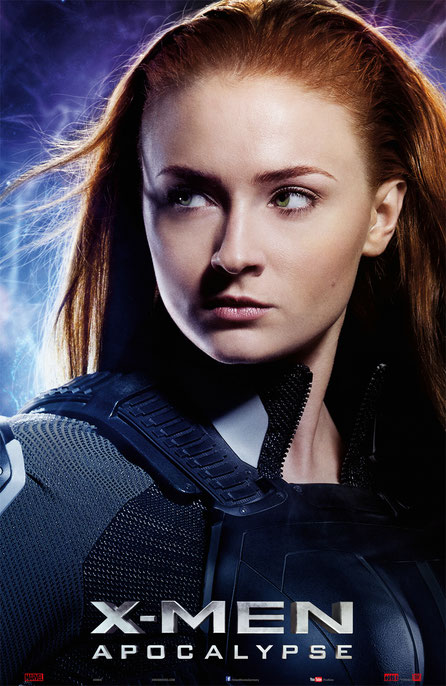 X-Men Apocalypse Charaktere - Jean Grey - 20th Century Fox - kulturmaterial