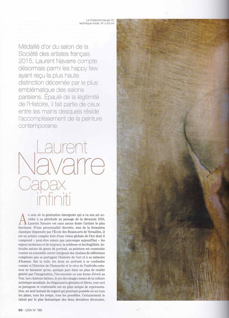magazine art peinture Navarre
