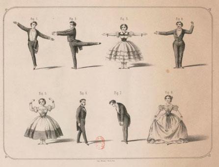 Cours de danses historiques en ligne sur ZOOM