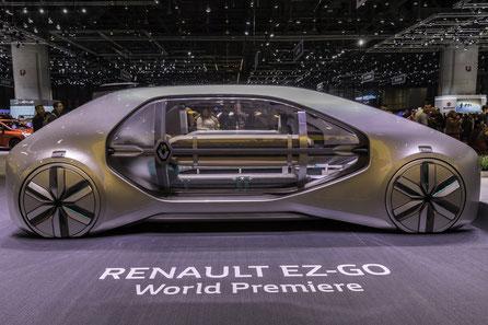 Reportage — Mobilität der Zukunft — Renault EZ-GO, Rinspeed Snap...