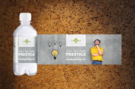 Die Wasserflasche als Werbeartikel im Unternehmensdesign