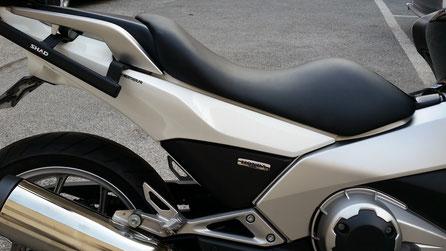Selle rabaissée scooter