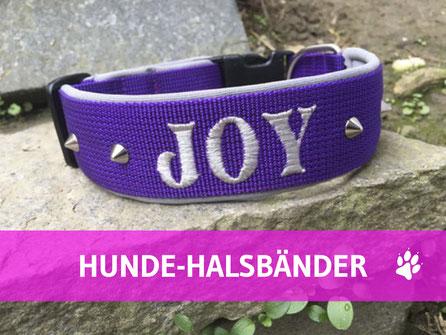 Hundehort Rudel-Treff - Hunde-Halsbänder individuell