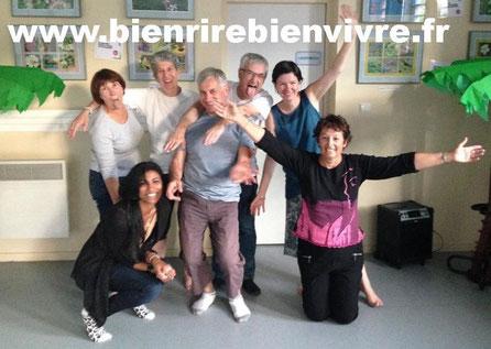 Le yoga du rire rend heureux - www.bienrirebienvivre.fr