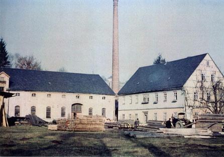 Bild: Teichler Wünschendorf Erzgebirge Schrötermühle um 1965