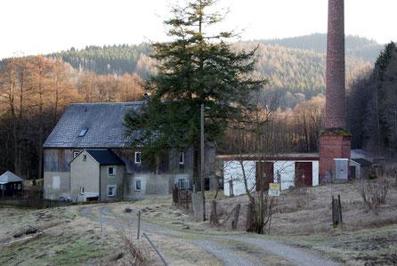 Bild: Teichler Wünschendorf Erzgebirge Schrötermühle