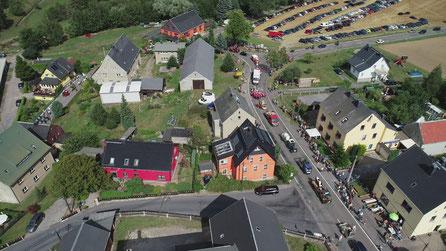 Bild: Festumzug 650 Jahre Wünschendorf