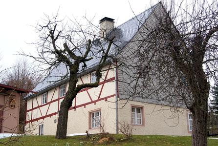 Bild: Teichler Fachwerkhaus  Wünschendorf Erzgebirge