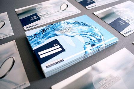Geschäftsausstattung Flyer Grafikdesign Straubing Werbeagentur