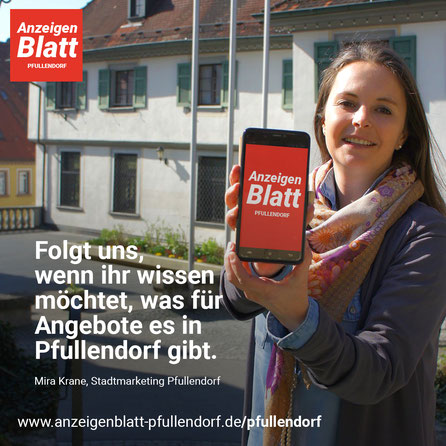 Mira Kran, Stadtmarketing Pfullendorf nutzt das Anzeigenblatt Pfullendorf