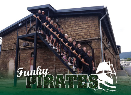 Die Black Pirates der Pirates Cheerleader aus Werder
