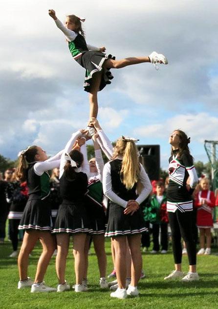 Cheerleader Auftritte auf Ihrer Veranstaltung