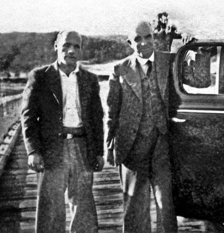 Francis Brabazon ( L ) & Baron von Frankenburg ( R )