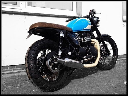 Triumph Bonneville Umbau Custombike