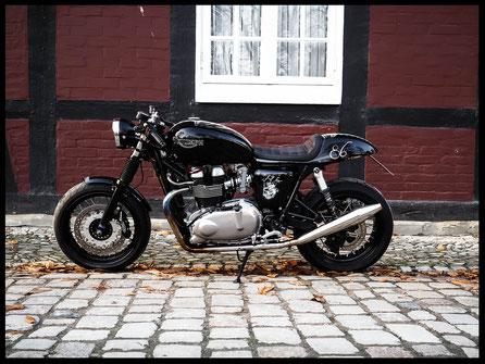 Triumph Thruxton Umbau Caferacer Custombike