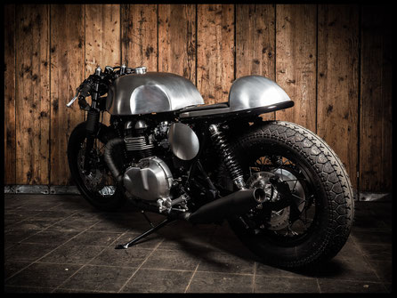 Triumph Thruxton Custom Bike Umbau