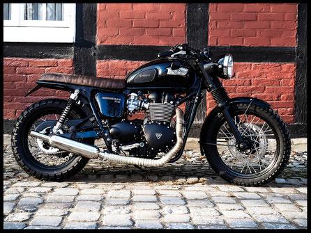 Triumph Bonneville T100 Umbau Custombike