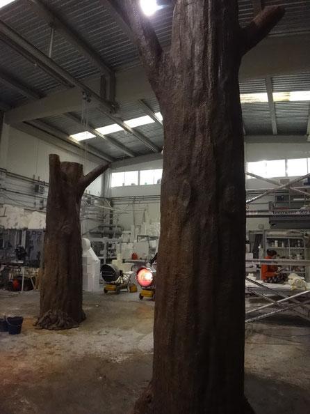Árbol escenográfico, para Stand en IFEMA