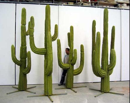 Cactus Saguara Gigantes, atrezzo espacial para pelicula Los Hermanos Dalton.