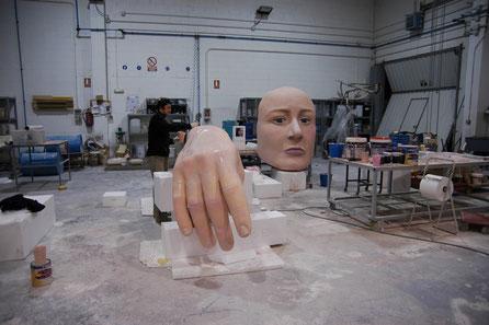 Alicia en el taller