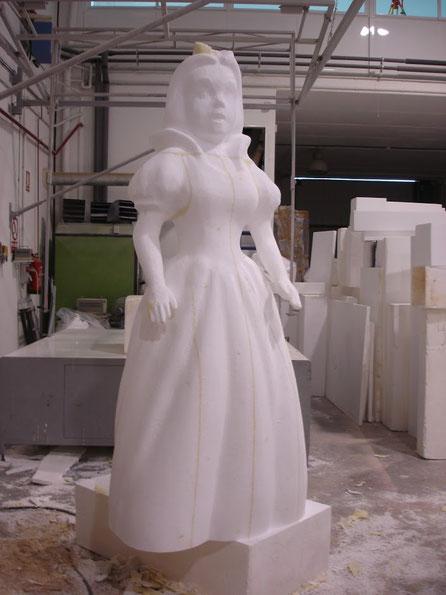 Blanca Nieves, 220 cm altura