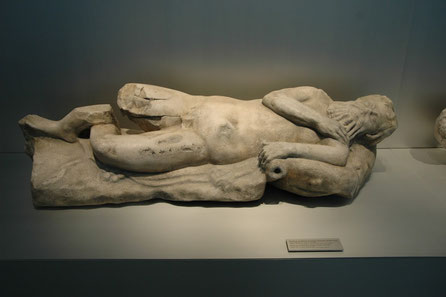 Replica de Sileno, Museo Romano  de Baelo Claudia