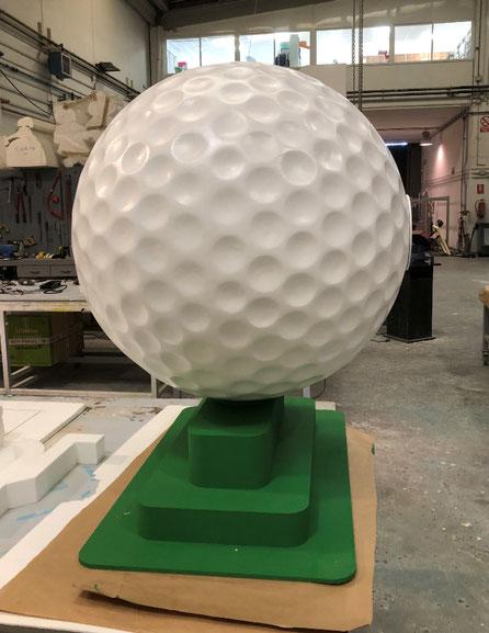 Reclamo Conmemorativo de pelota de Golf