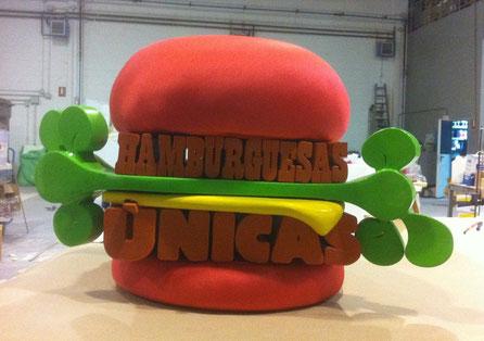 hamburguesa para spot VIPS