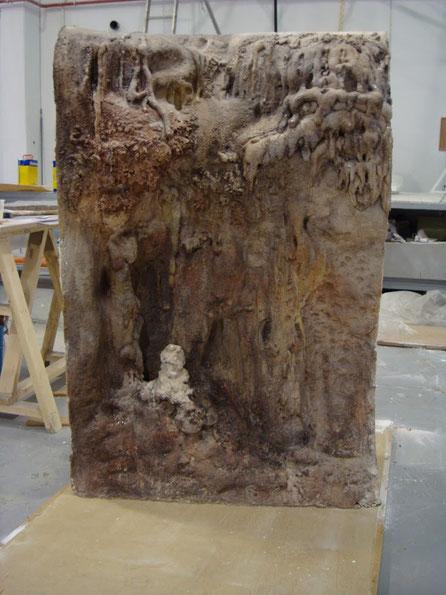 Fragmento Roca Caliza, Formación Cárstica